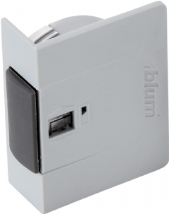 blum servo drive switch for aventos symmetrical light grey 21p5020. Black Bedroom Furniture Sets. Home Design Ideas