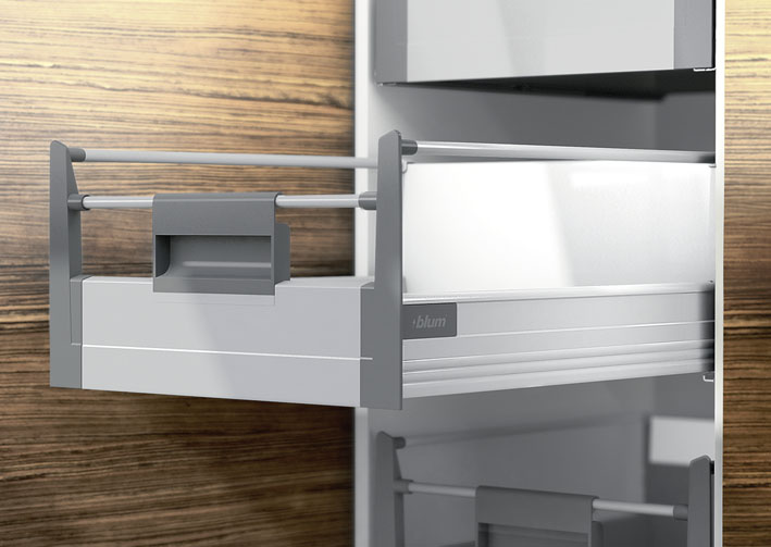 Blum Tandembox Plus Blumotion Inner Drawer To Suit 600mm Unit Height D 224 Mm 30 Kg Nl 500 Mm